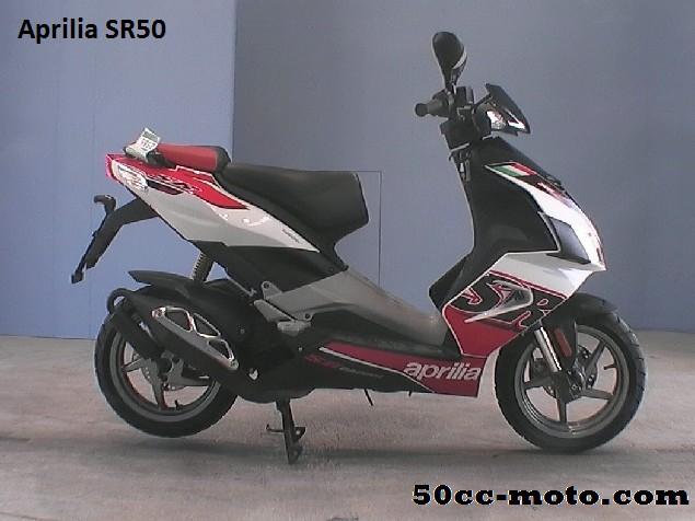 Aprilia SR50 2012